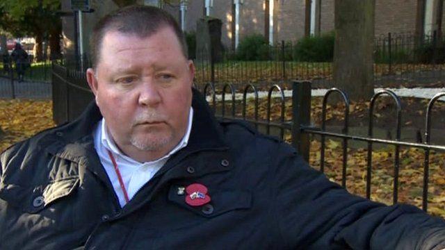 Wrexham Councillor Keith Gregory