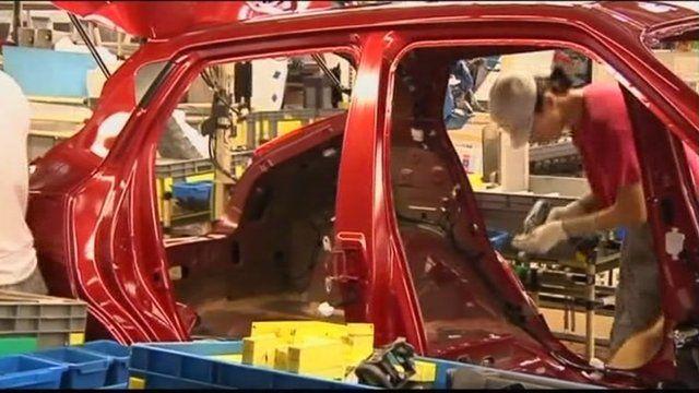 Nissan car production