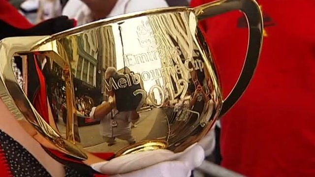 The Melbourne cup