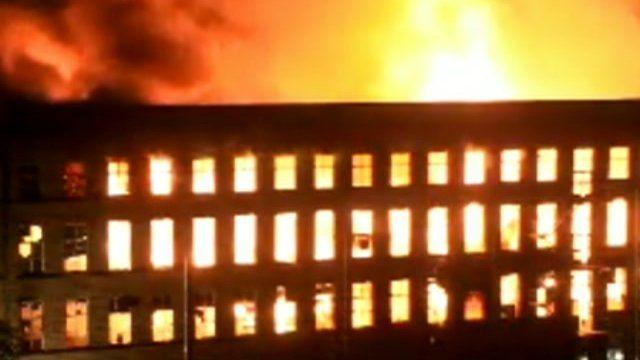 Ebor Mill fire