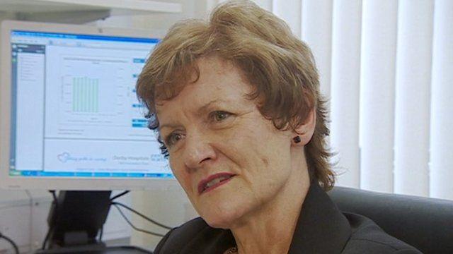 Chief executive Sue James