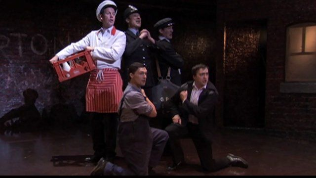 Scene from Blood Brothers