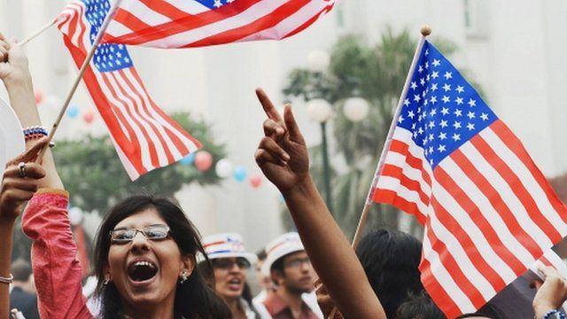 Y dathlu yn America