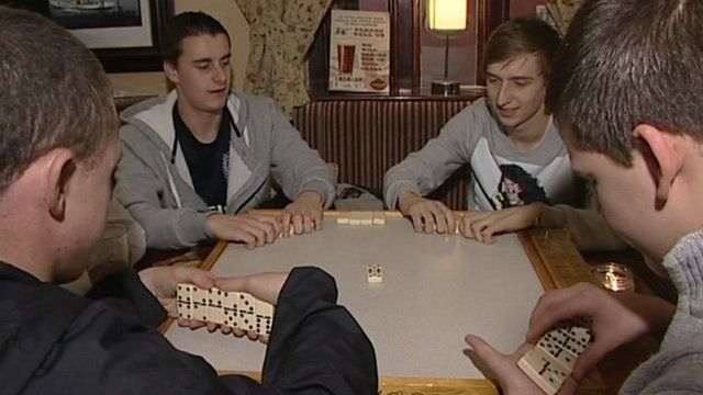 Dominoes players