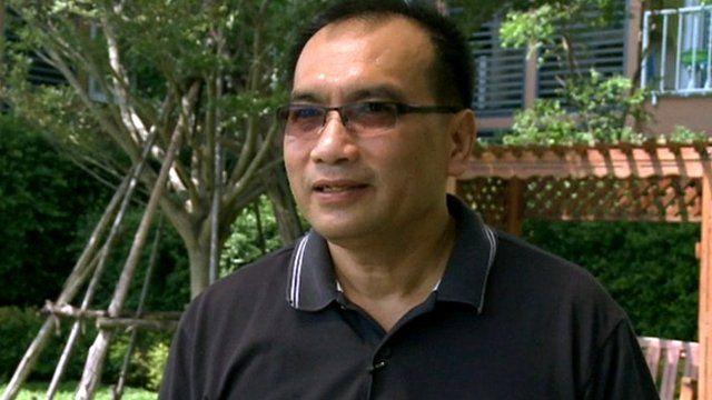 Joe Gordon, released from a Thai prison