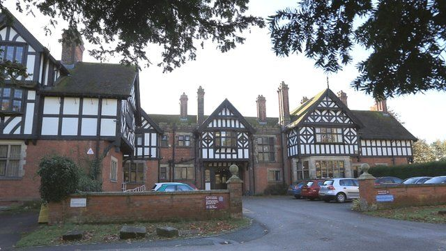 The former Bryn Estyn children's home in Wrexham