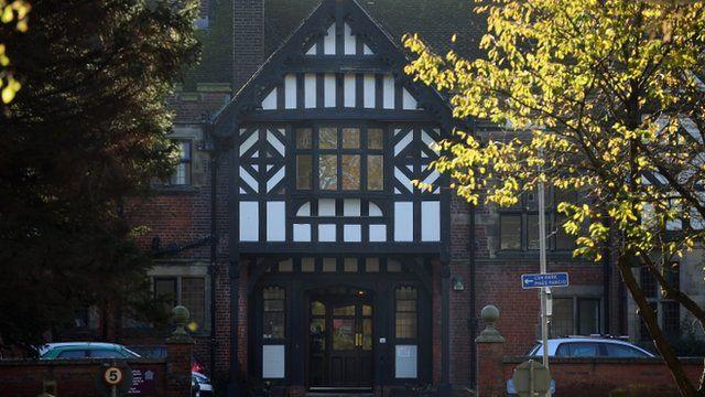 The former Bryn Estyn Childrens Care Home, Wrexham
