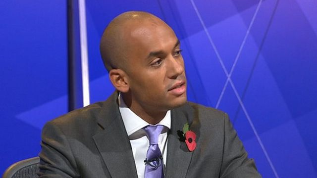 Chuka Umunna on Question Time