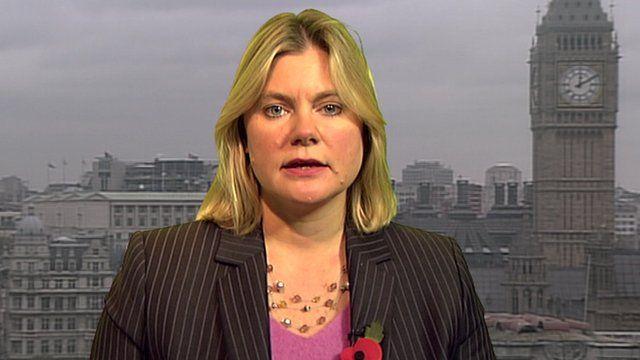 International Development Secretary, Justine Greening