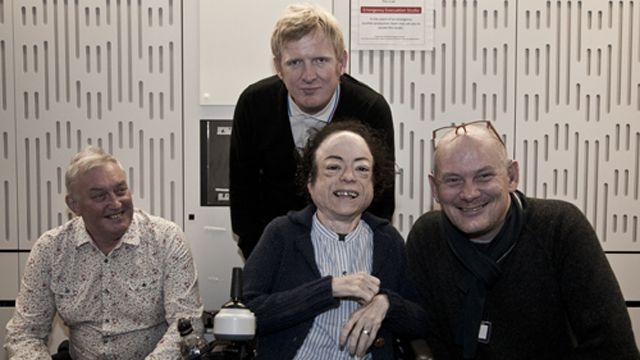 Rob and Liz with Steve Day and Ian Macrae