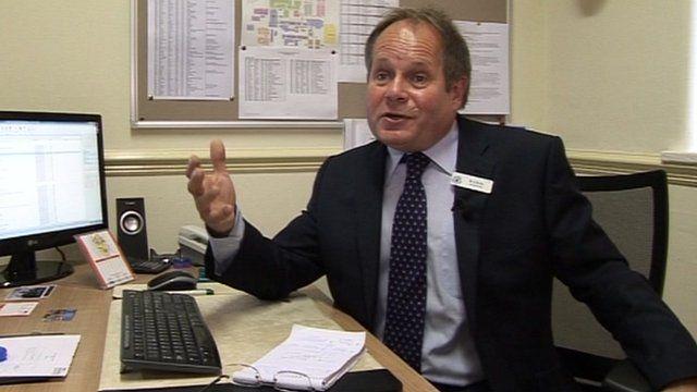Graham Burks, head teacher at Kesteven and Grantham Girls School