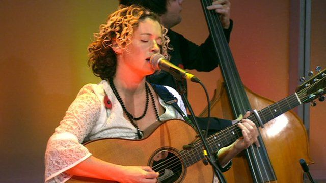 Kate Rusby on the Andrew Marr Show