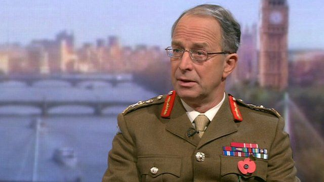 General Sir David Richards on The Andrew Marr Show
