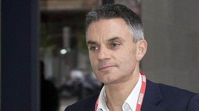 Tim Davie, acting Director-General of the BBC