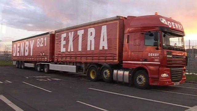Denby super-lorry