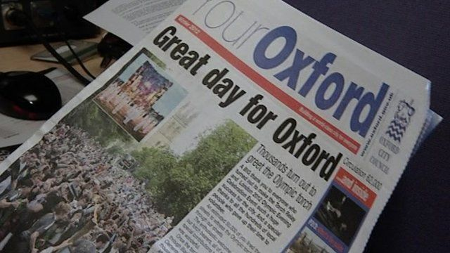 Oxford City Council newsletter