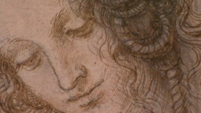Da Vinci drawing