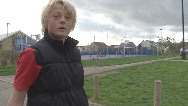 15-year-old Zac from Jaywick