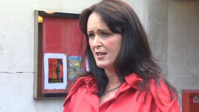 Paula Stevenson, mother of Hayley Fullerton