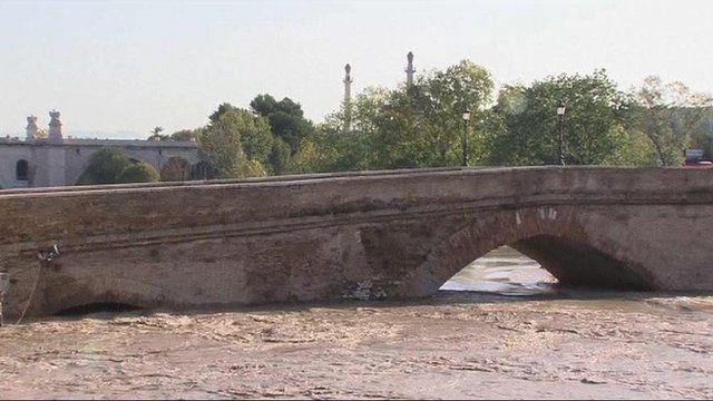 Ponte Milvio bridge