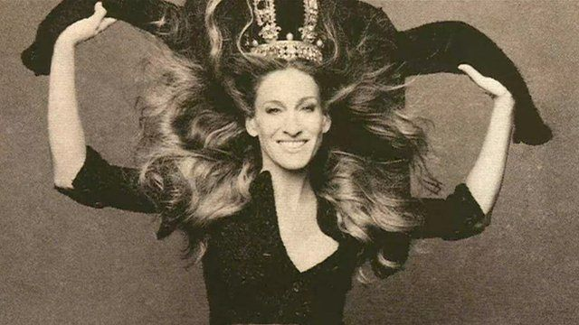 Sarah Jessica Parker photographed by Karl Lagerfeld