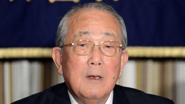 Kazuo Inamori, the chairman of Japan Airways