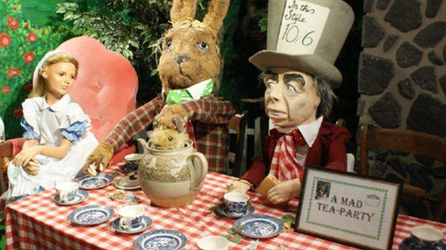 Exhibits at the Rabbit Hole