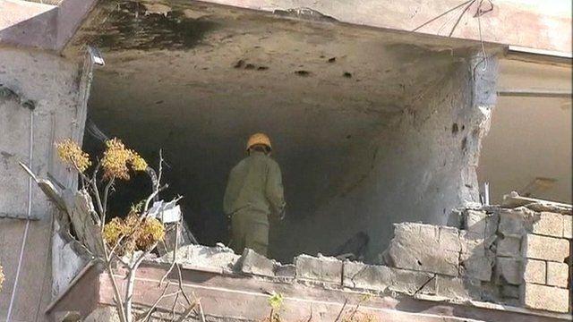 Apartment in Kiryat Malachi hit by rocket