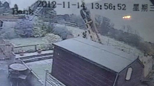 Drill rig falls into mine shaft in Egremont