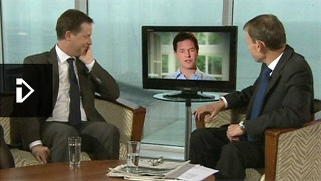 The Nick Clegg I'm Sorry song