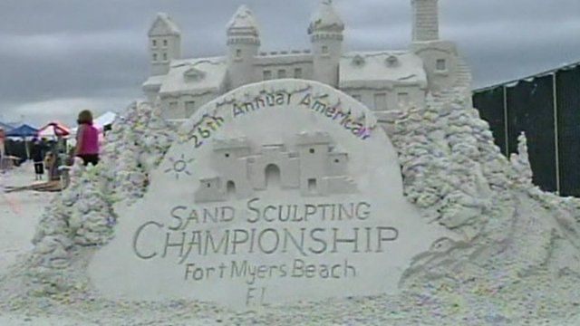 Sand Sculpting Championship