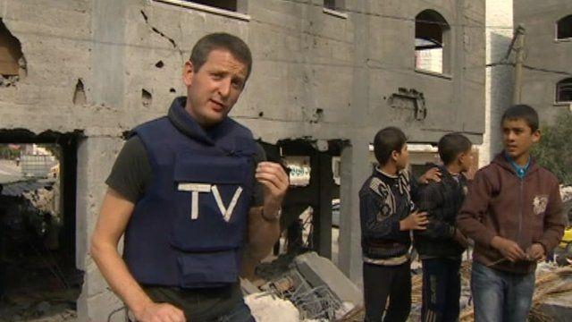 Jon Donnison in Gaza