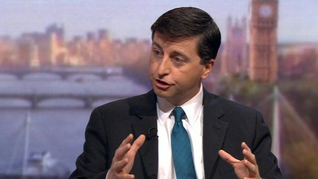 Douglas Alexander, Shadow Foreign Secretary, on the Andrew Marr Show