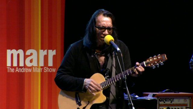 Musician Sixto Rodriguez on the Andrew Marr Show