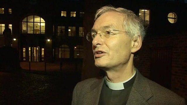 Archdeacon of West Cumberland Richard Pratt