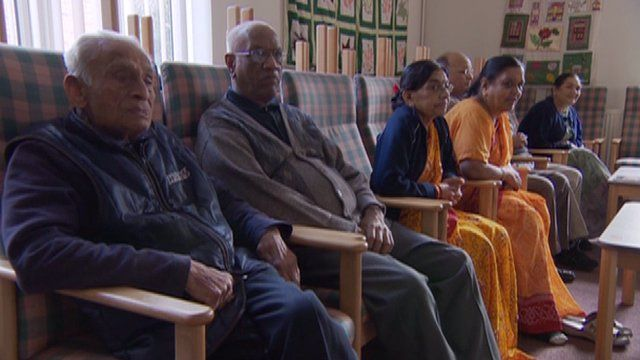 Elderly Londoners