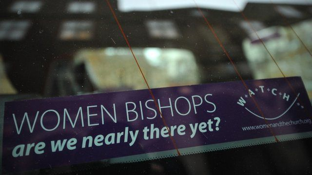 """""""Women bishops: are we nearly there yet?"""" banner"""