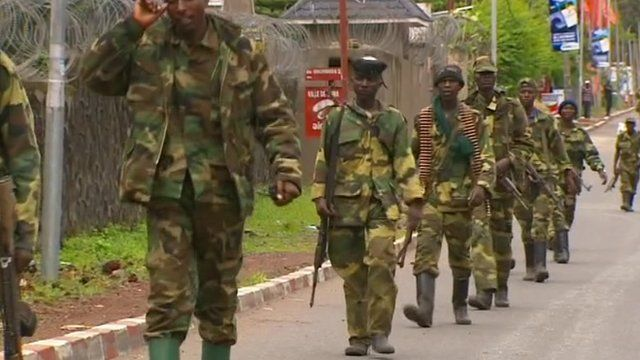 Rebels in Goma