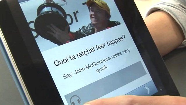 A new app for smart phones and tablets has been launched to help people learn the Manx language