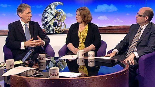 Philip Hammond, Emily Thornberry and Nick Robinson