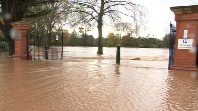 Flooded Vivary Park