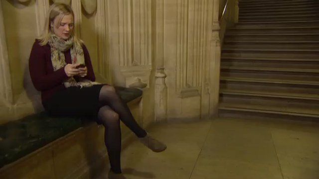 MP Stella Creasy at the House of Commons