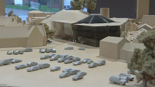 Model of the Magnet Centre