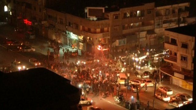 People take to the streets in Gaza after the ceasefire
