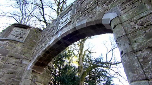 Archway at Scone Palace