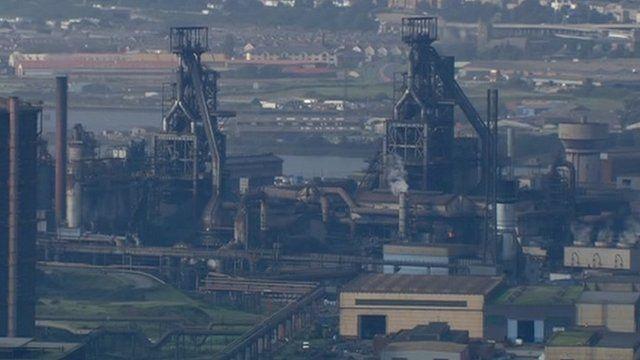 Steel plant, Port Talbot