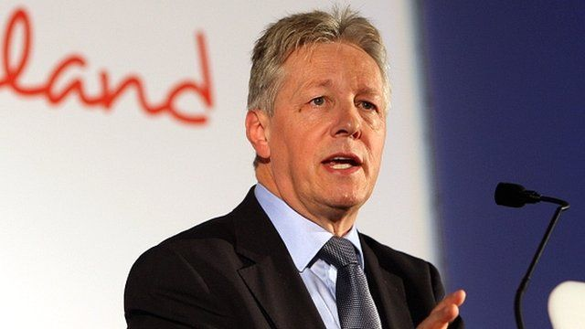 Stormont First Minister Peter Robinson
