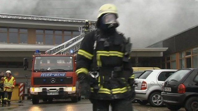 Fire at a workshop in Titisee-Neustadt