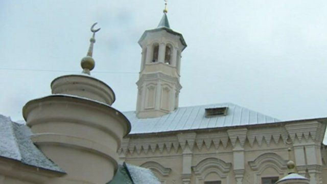 A mosque in Tatarstan