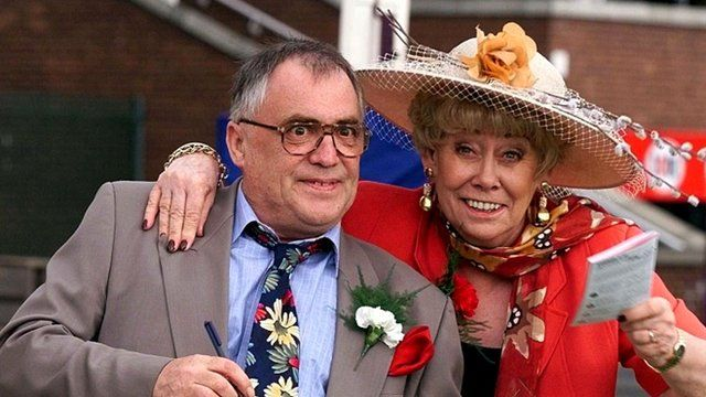 Bill Tarmey and actress Liz Dawn